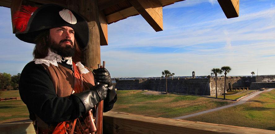 Colonial Quarters Tour – St. Augustine, FL