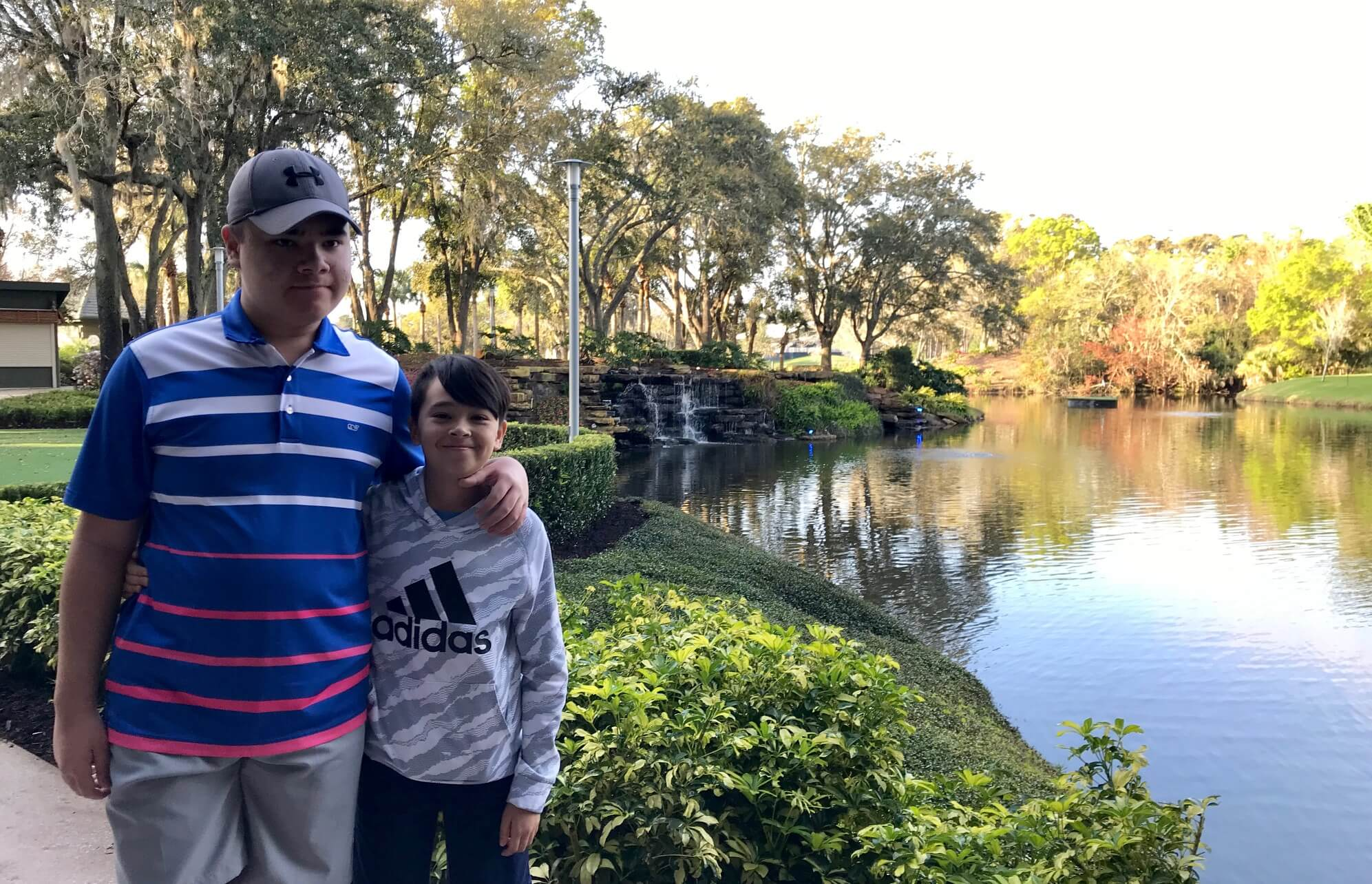 Enjoying nature at Sawgrass Marriott- Calming parts of nature good for Autism