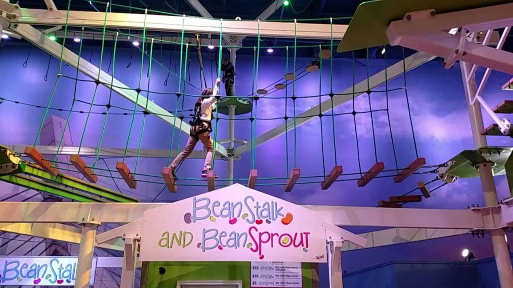 BeanStalk™ Adventure Ropes Course
