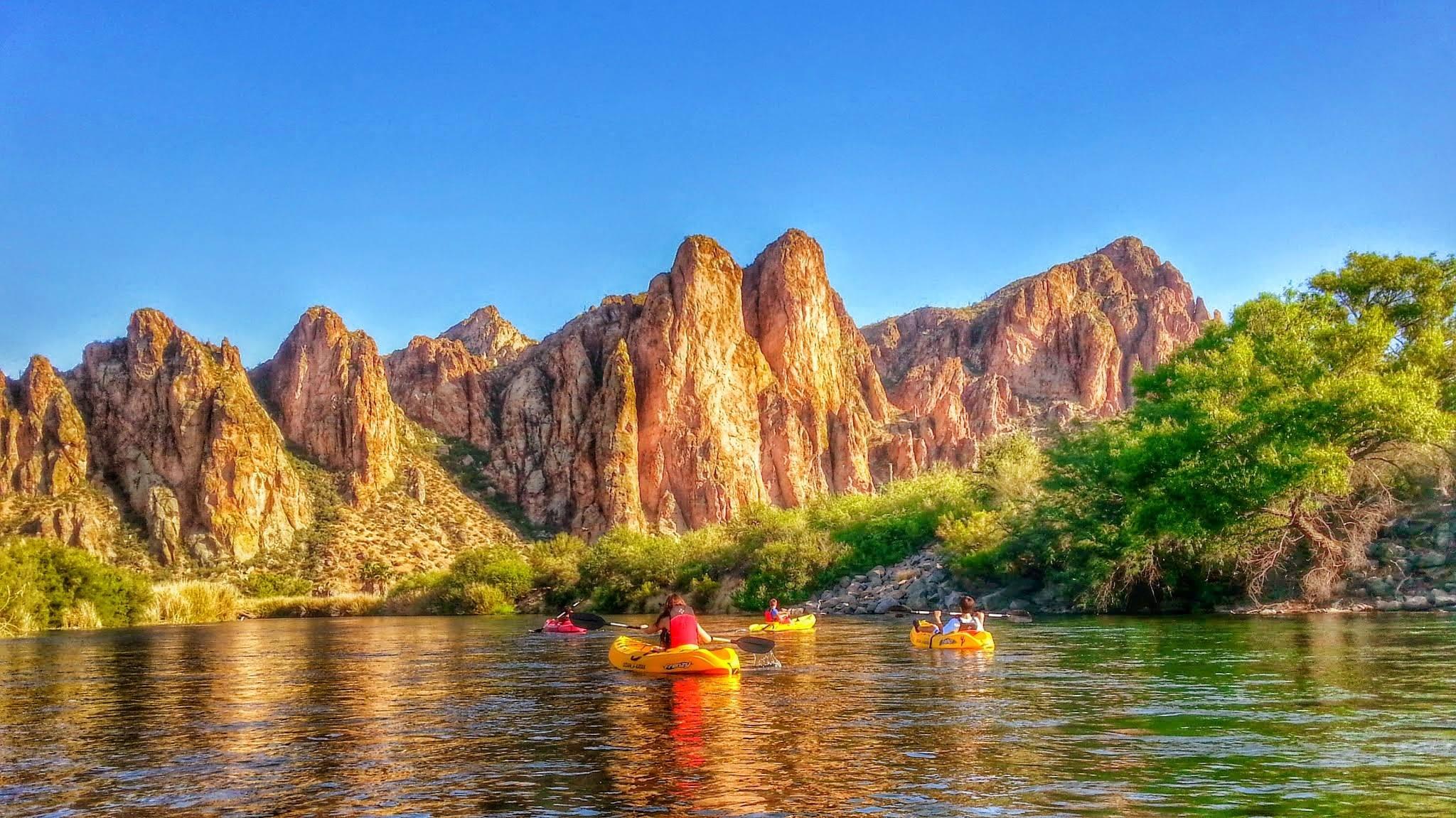 Visit Mesa kayaking