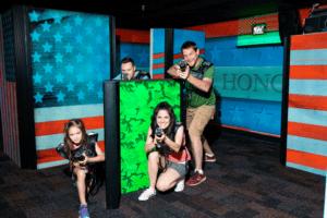 Ripley's Super Fun Zone laser tag family