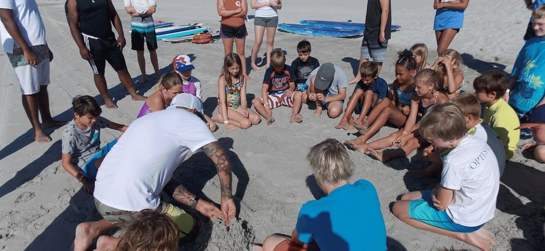 Myrtle Beach beach camp
