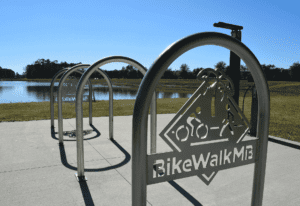 Myrtle Beach bike walk