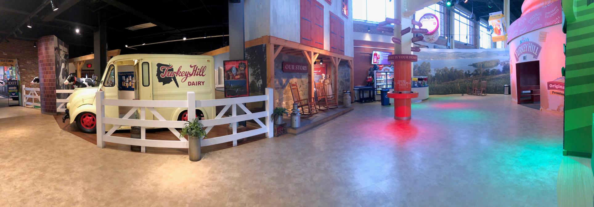 Turkey Hill Experience exhibit